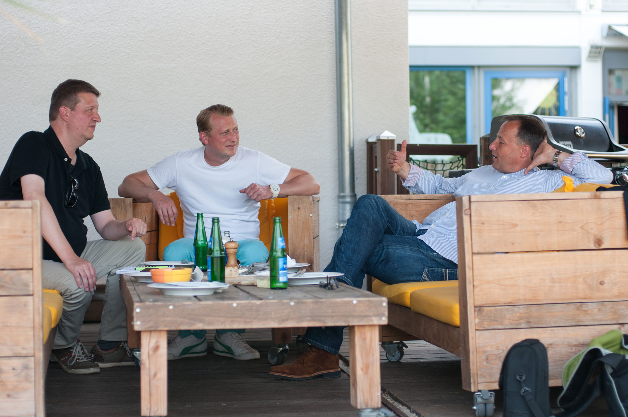KR-ONE Kocht - Mit Jörg Heydel im Uerdinger Beachclub
