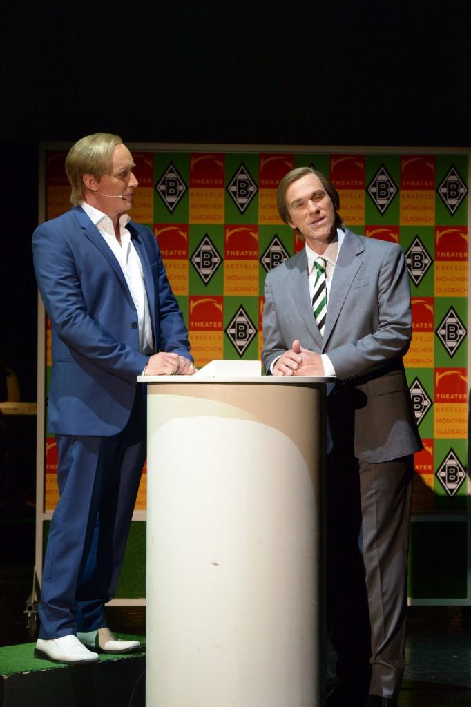 """Wir sind Borussia"" Theater"