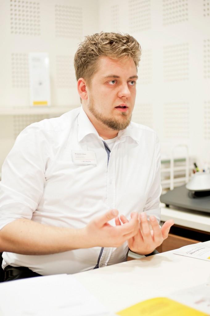 Hörgeräteakustikermeister Benjamin Glaser