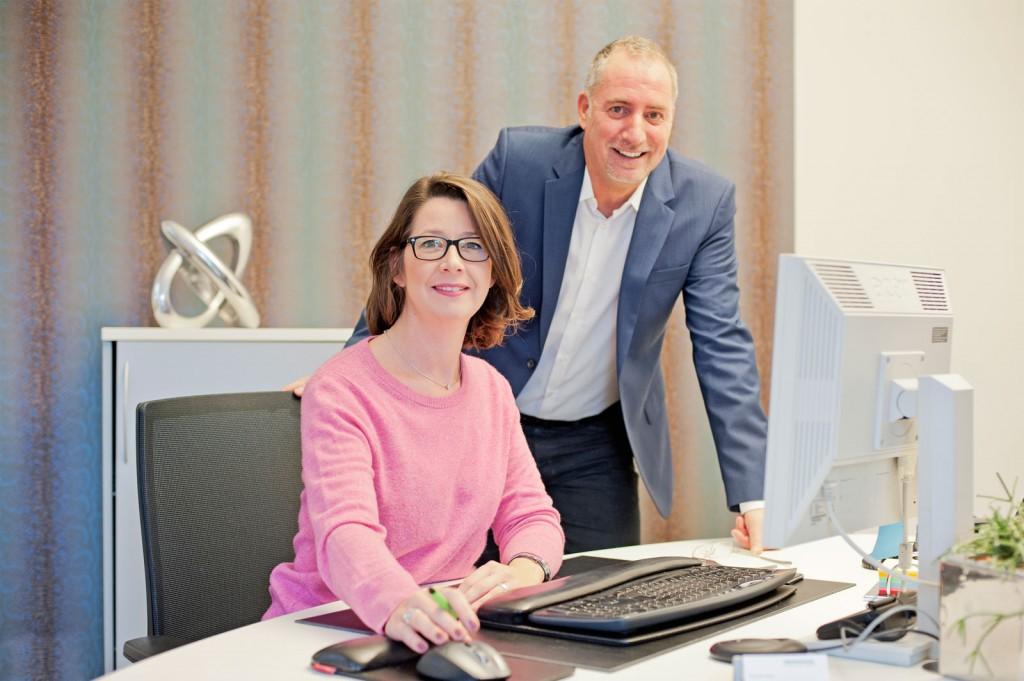 Daniela Hoster und Klaus Dott