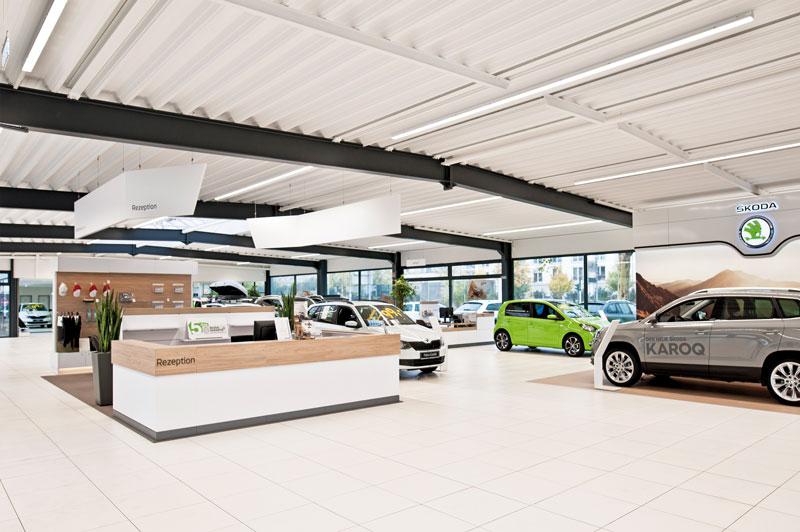 Ein Jahr Škoda Zentrum Krefeld