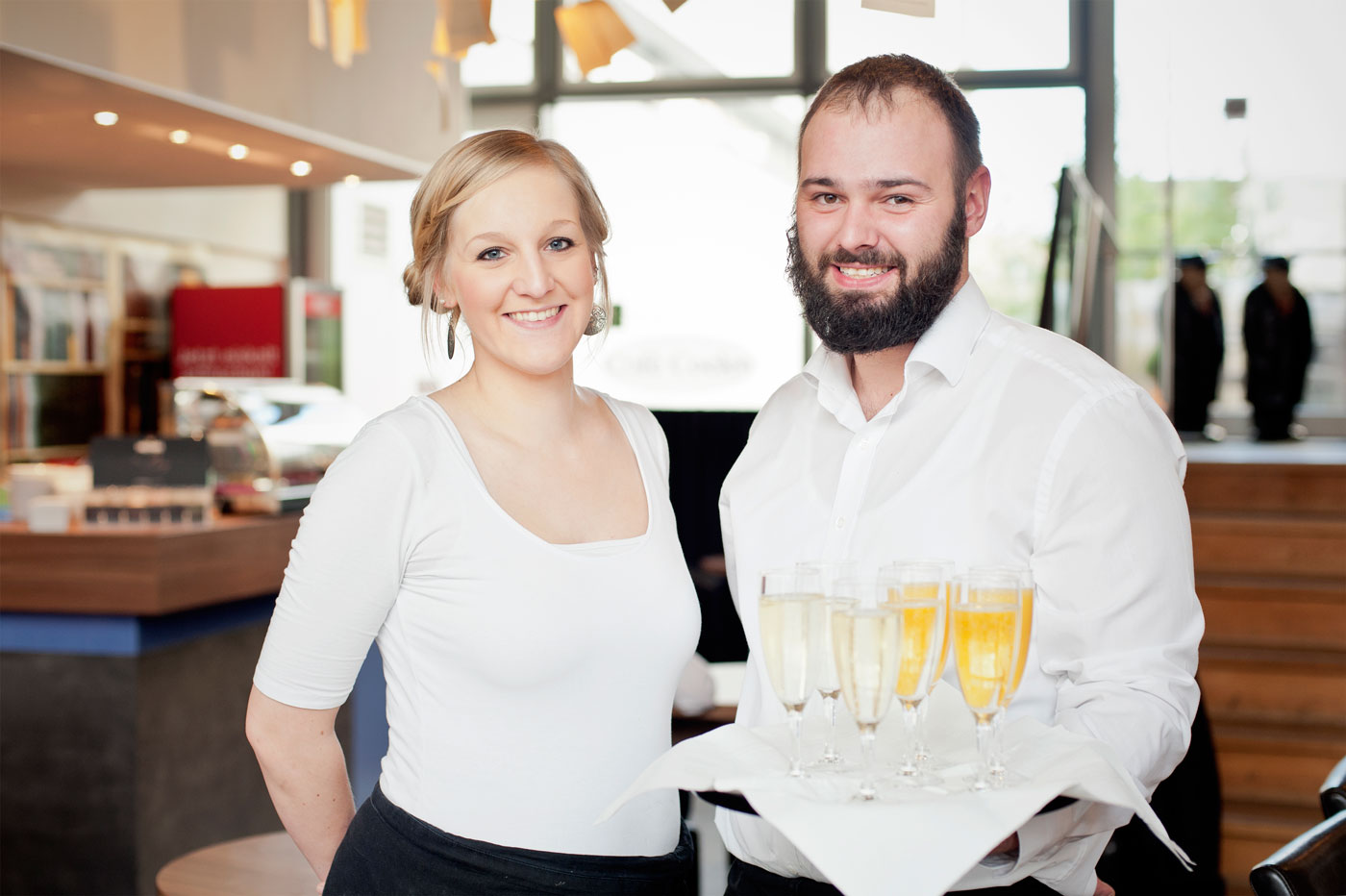 Café Coelen, Hochzeits-Spezial, Sektempfang