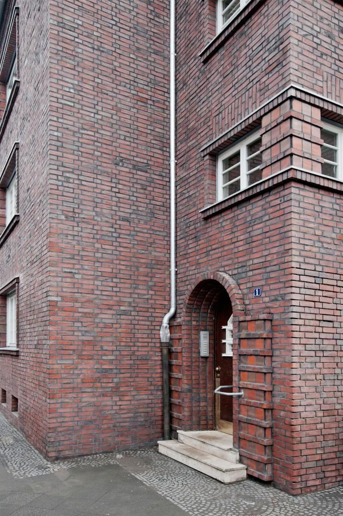 Eingang, Fassade