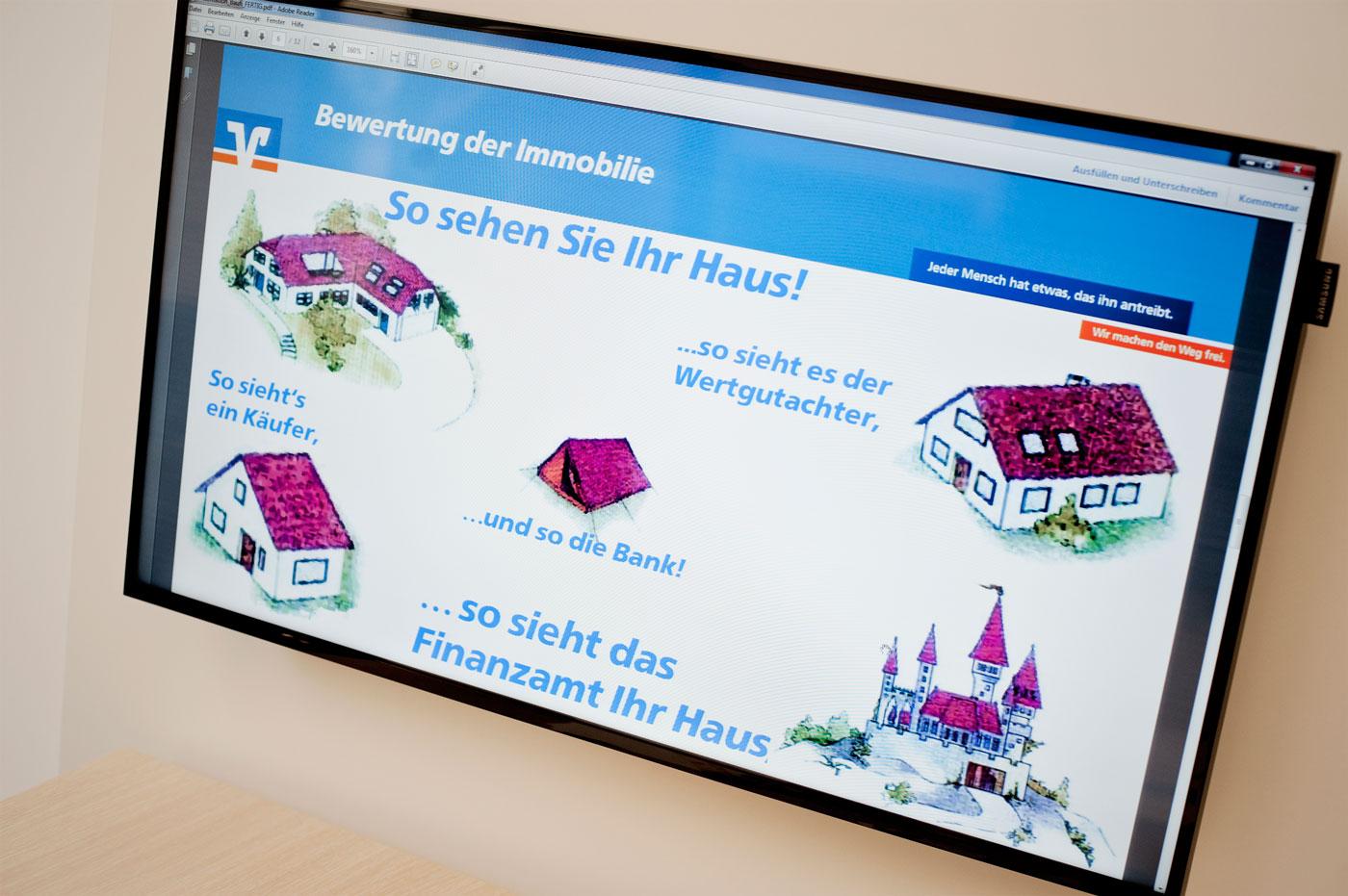Nicht nur auf den Zinssatz achten! Baufinanzierung bei der Volksbank Krefeld