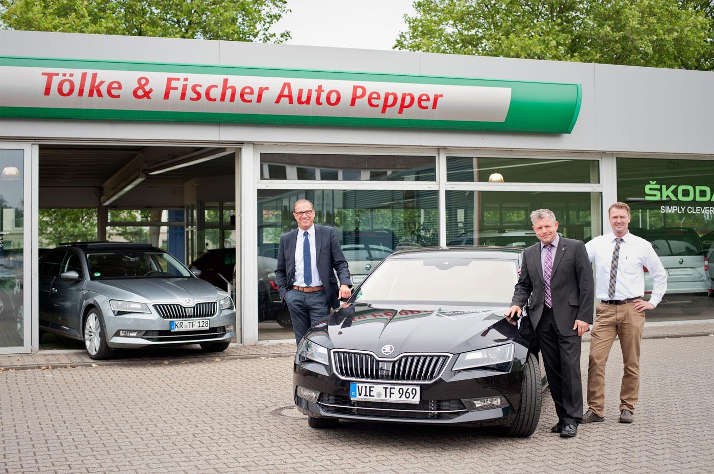 """Tölke & Fischer Auto Pepper: Skodas Zukunft in Krefeld wird """"superb"""""""