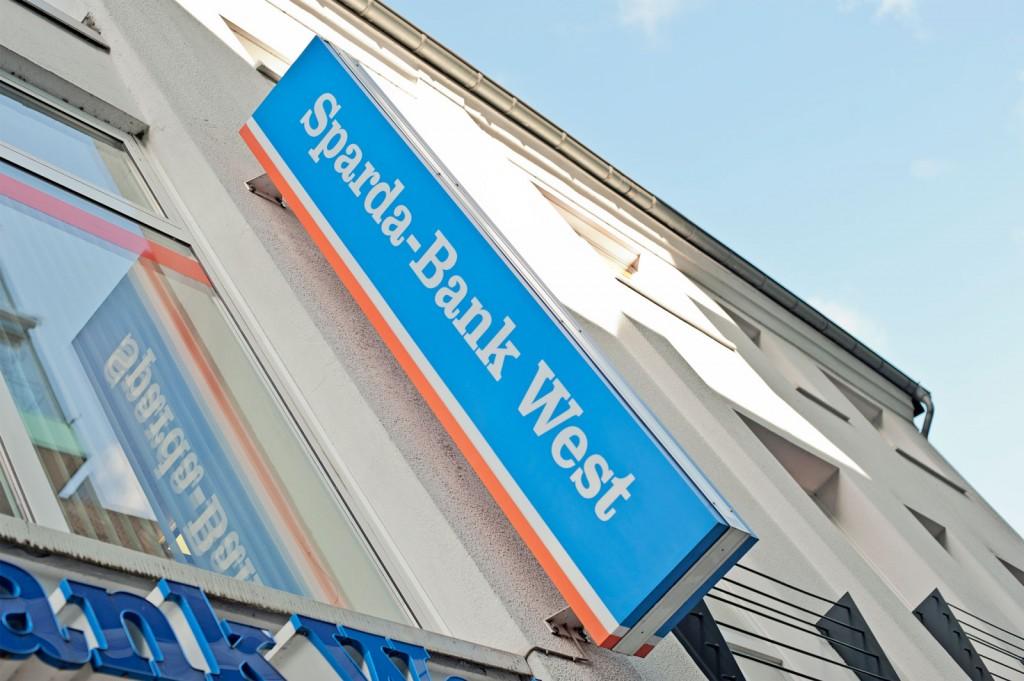 Sparda Bank West, Logo, Schild