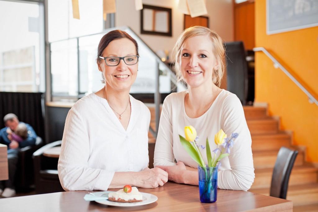 Ina (links) und Lena Coelen