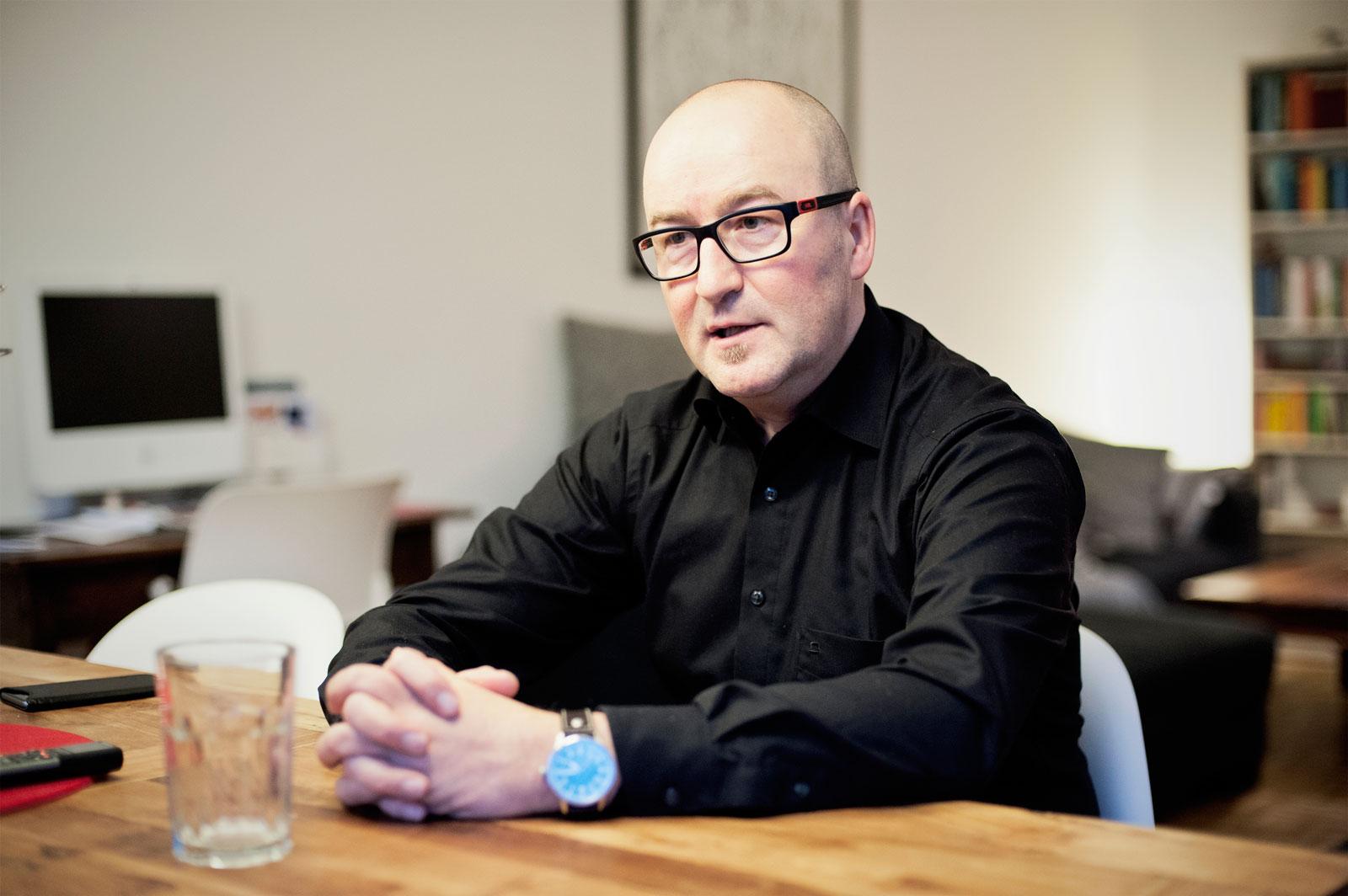 Christoph Fleckenstein: 32 Jahre Tribünen-Pinguin mit Leib und Seele