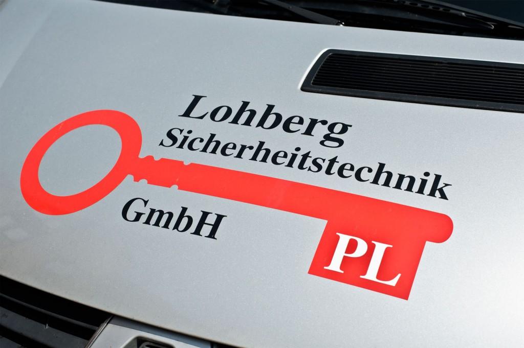 Logo, Lohberg Sicherheitstechnik