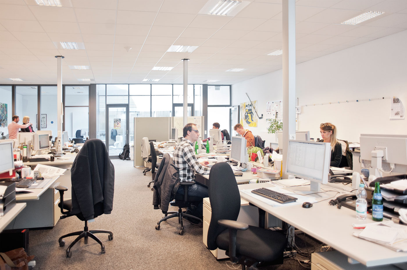 Das Büro der WZ in Krefeld