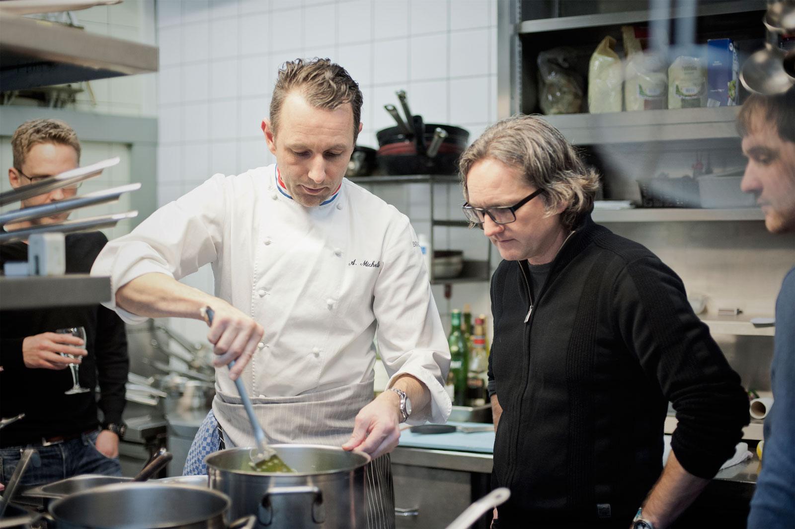 KR-ONE Kocht - mit Alain Michelis - Sterne-Know-how im rustikalen Gewand