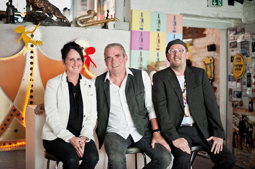 Michaela Wilke, Dr. Wolfgang Jachtmann und Armin Richly