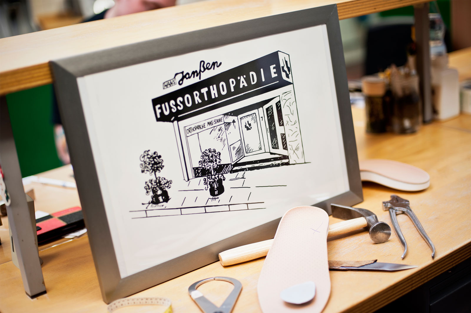 70 Jahre Fußorthopädie Janßen – Altes Handwerk von innovativen Köpfen