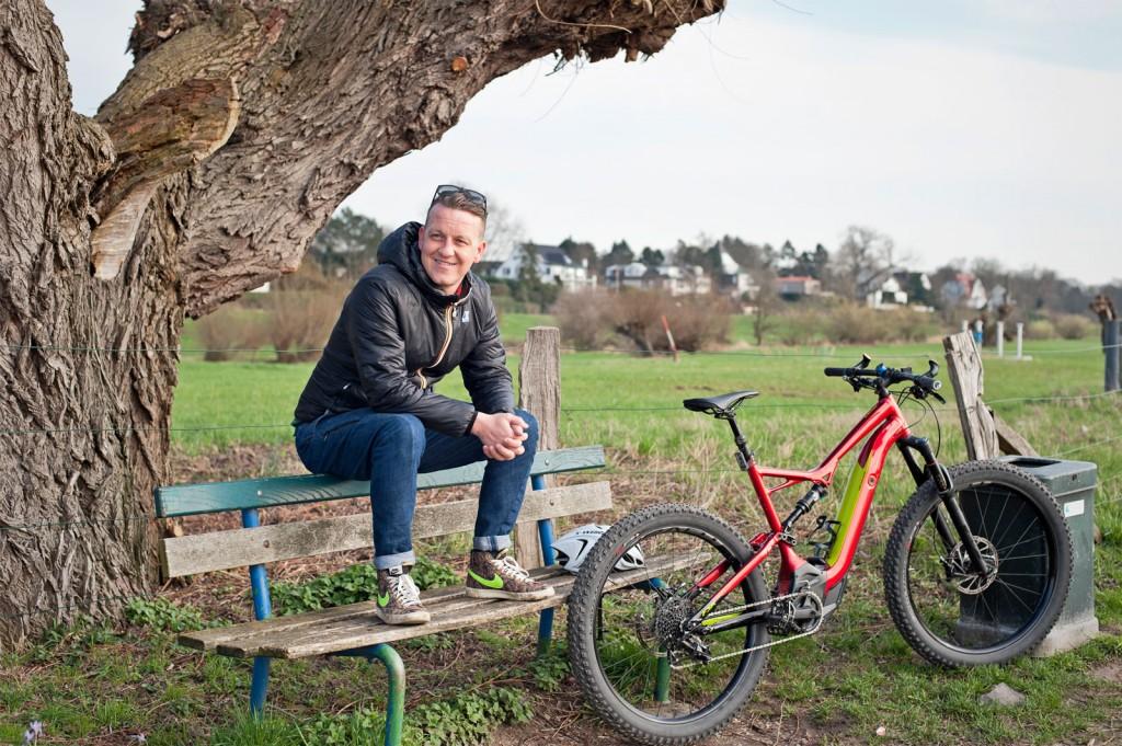 Tim Meyers, E-Bike