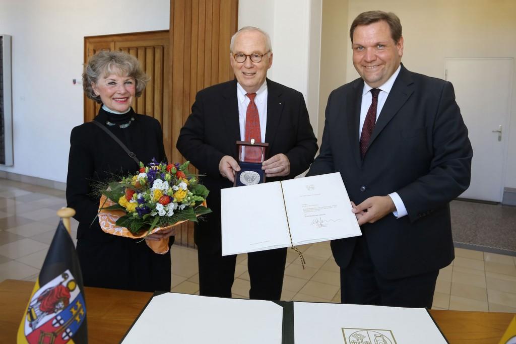 Reymann, Ehefrau Gabriele, Oberbürgermeister
