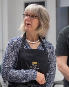 Kochschülerin Andrea Höhnerbach-FOOD ACADEMY IN DER MARKTHALLE- BURGER PARTY- SELBER MACHEN STATT TOPFSCHAU!