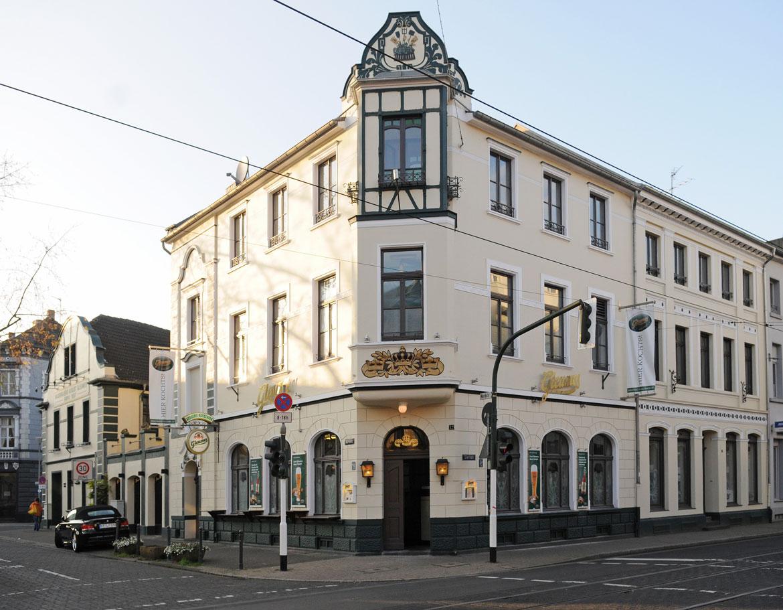 Krefelder B(r)aukultur - Wie Herstellung, Ausschank und Stellenwert von Bier das Stadtbild veränderten