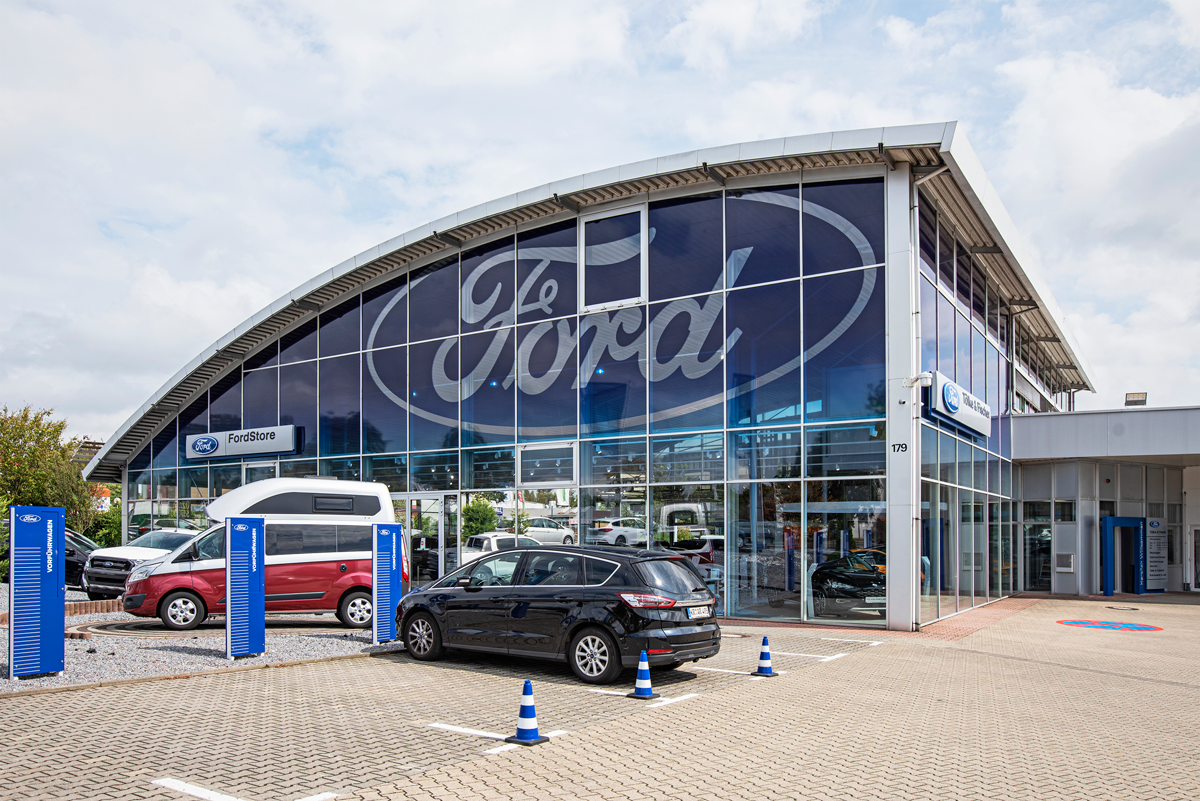 Töle + Fischer Ford Store Krefeld