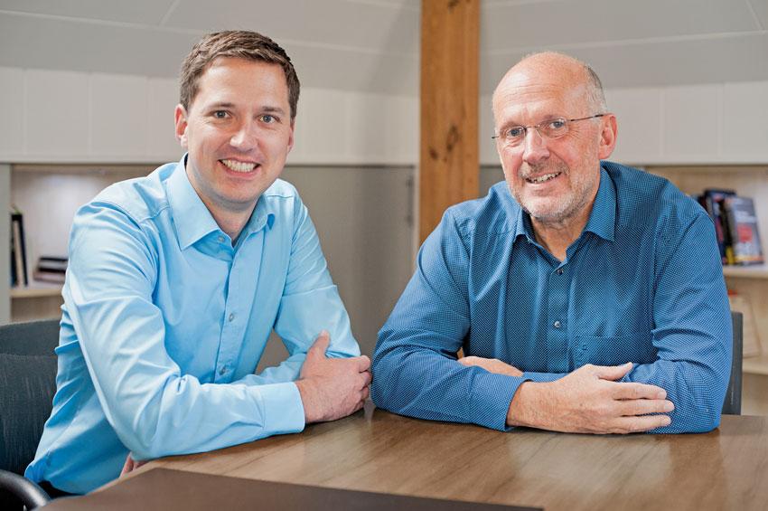 Geschäftsführer Thomas Paeßens und Dieter Pasch