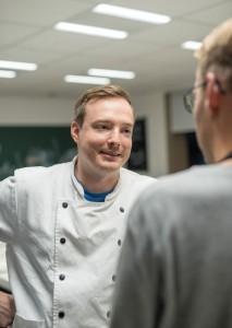 Martin Kortschlag (31), gastronomischer Leiter der Markthalle,FOOD ACADEMY IN DER MARKTHALLE