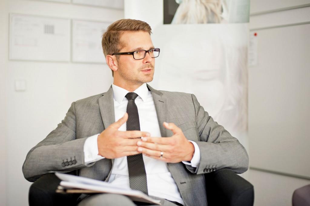 Teamleiter Sebastian Stengel