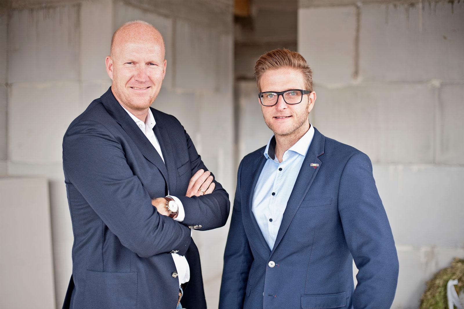 Christoph Lüke und Chris Holzleitner