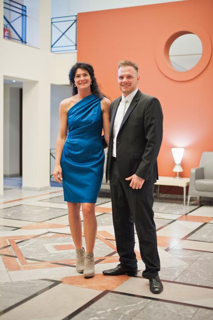 Karen Erens (geborene Vogel) und Daniel Erens