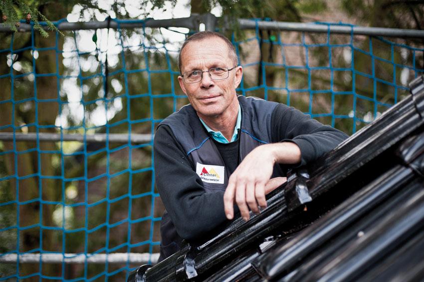 Dachdeckermeister Hans-Georg Fenten