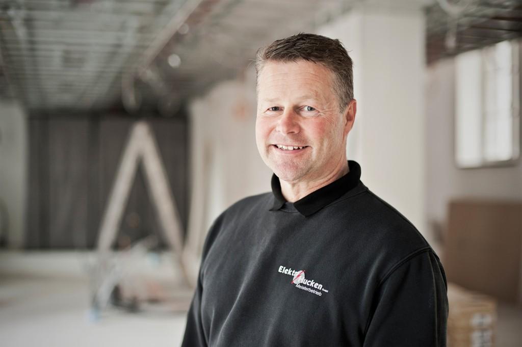 Elektromeister Frank Hucken