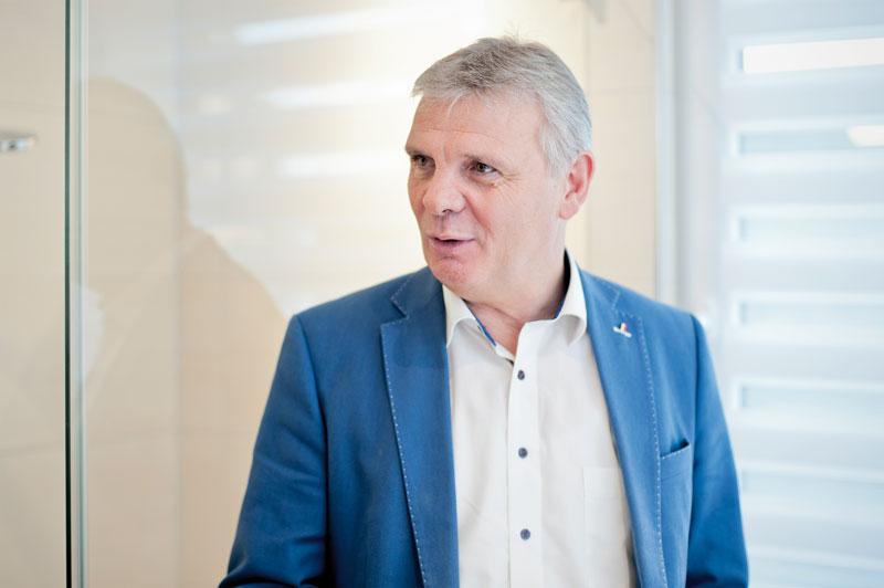 Ralf Föhles, Leiter der Krefelder Niederlassung Scheelen Gmbh