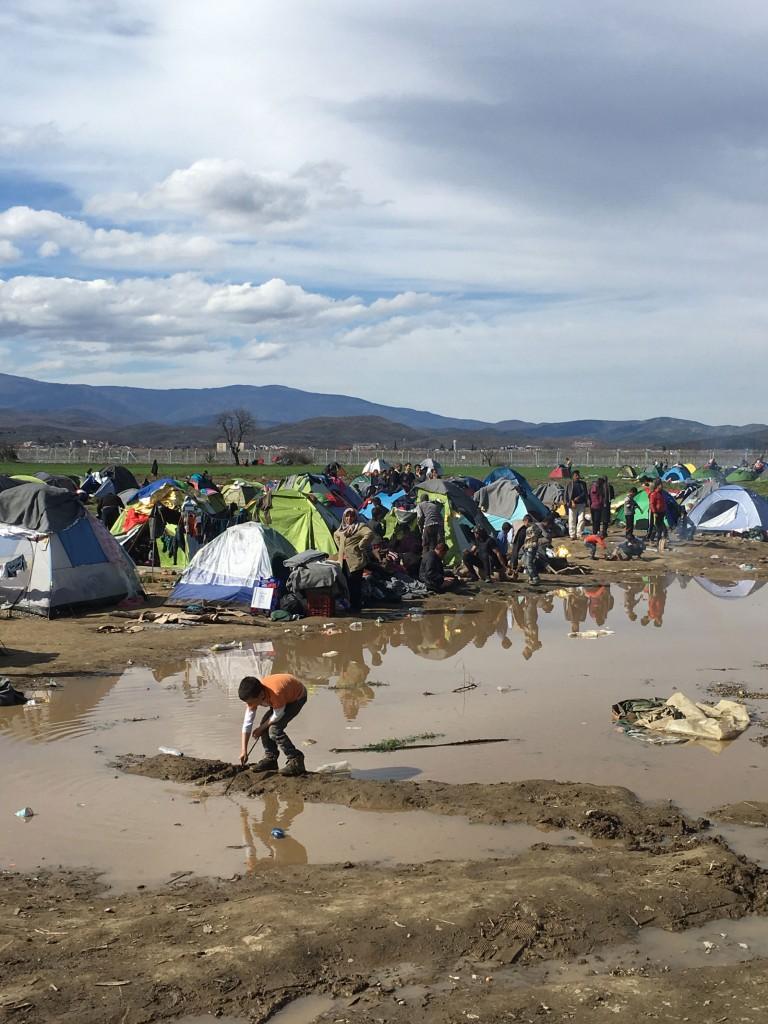 Zeltlager, Wasser