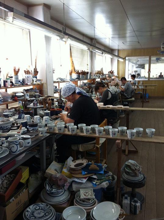 Keramik, Asien, Handarbeit
