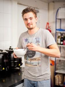 """Kommunikation zwischen Kuchen und Suppen - Café """"Max & Moritz"""" in Fischeln"""