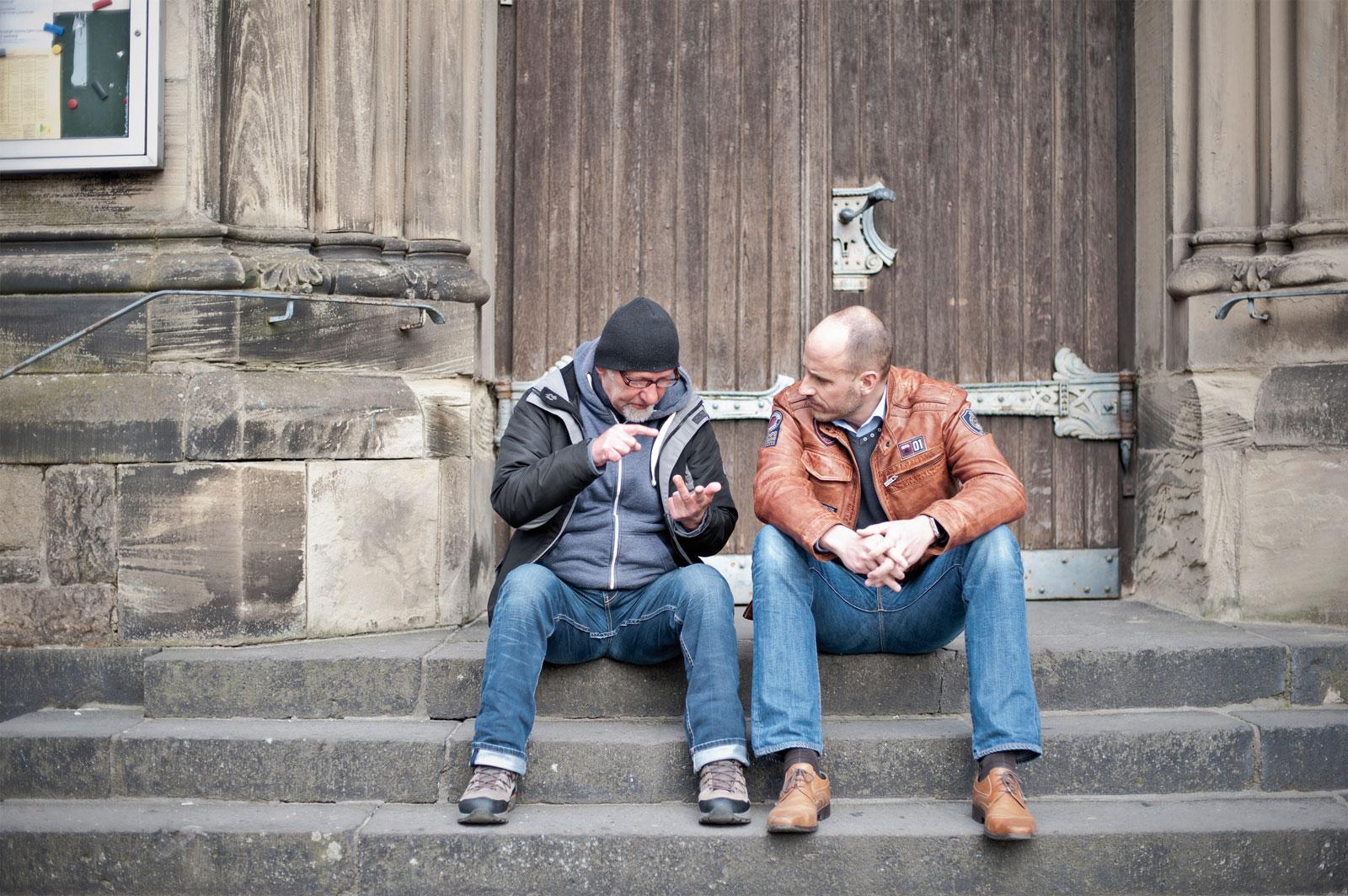 Hilfe in der Zwischenphase - Anlaufstellen für Obdachlose in Krefeld