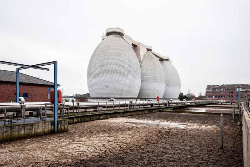 Vom Abwasser zum Rheinwasser - Besichtigung des Klärwerks am Weltwassertag