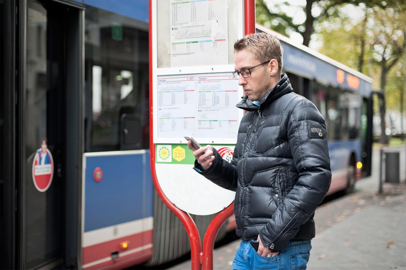 Die SWK Bus & Bahn-App im Check - Mobile Fahrplanauskunft und Ticketshop