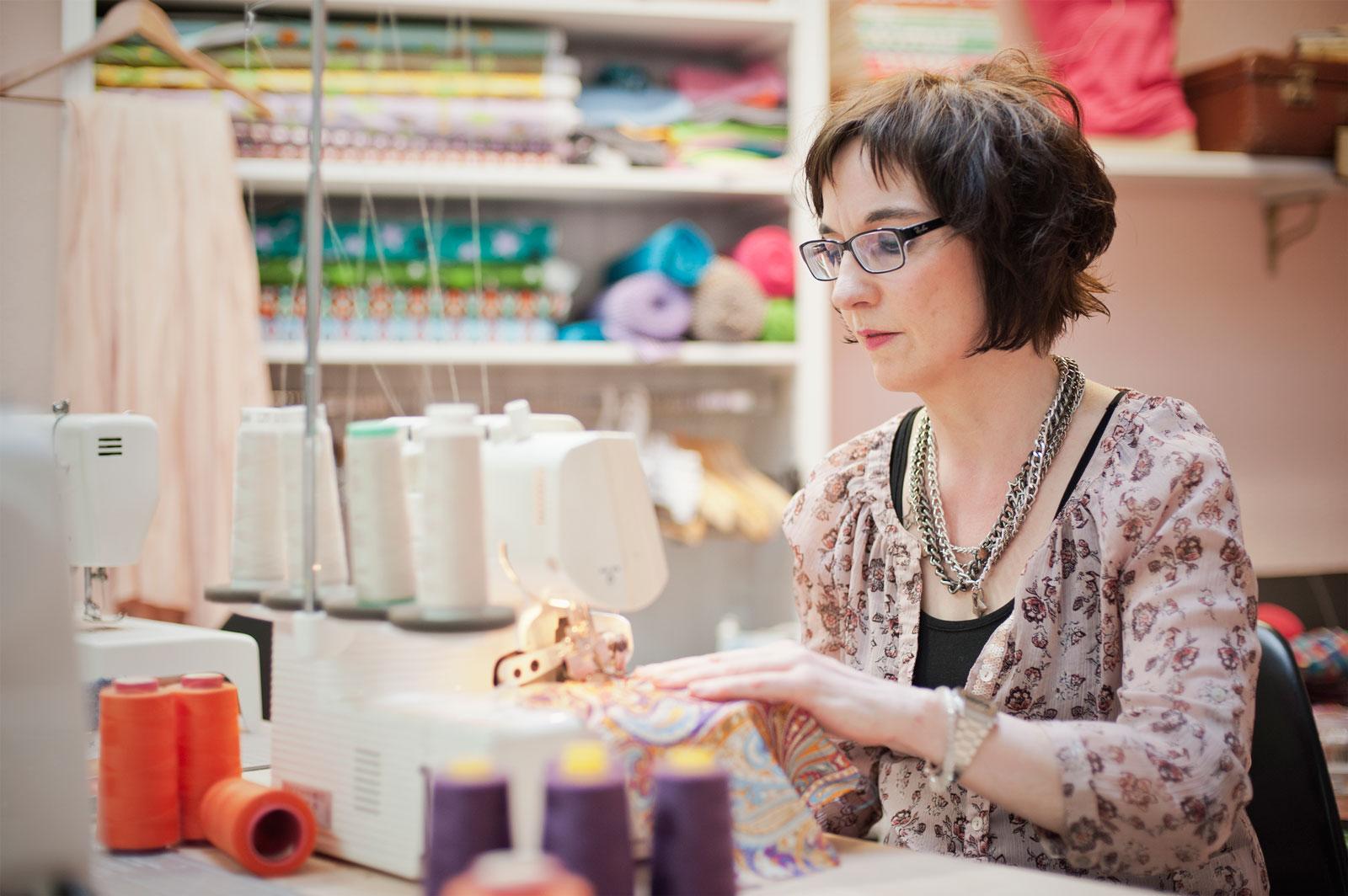 Dreimalschön - Geschäft und Werkstatt für Handarbeit – Frau Küppers Gespür fürs Schöne