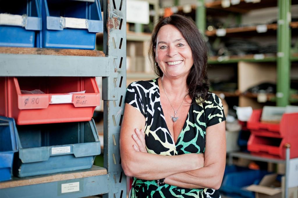 Geschäftsführerin Brigitte Machost