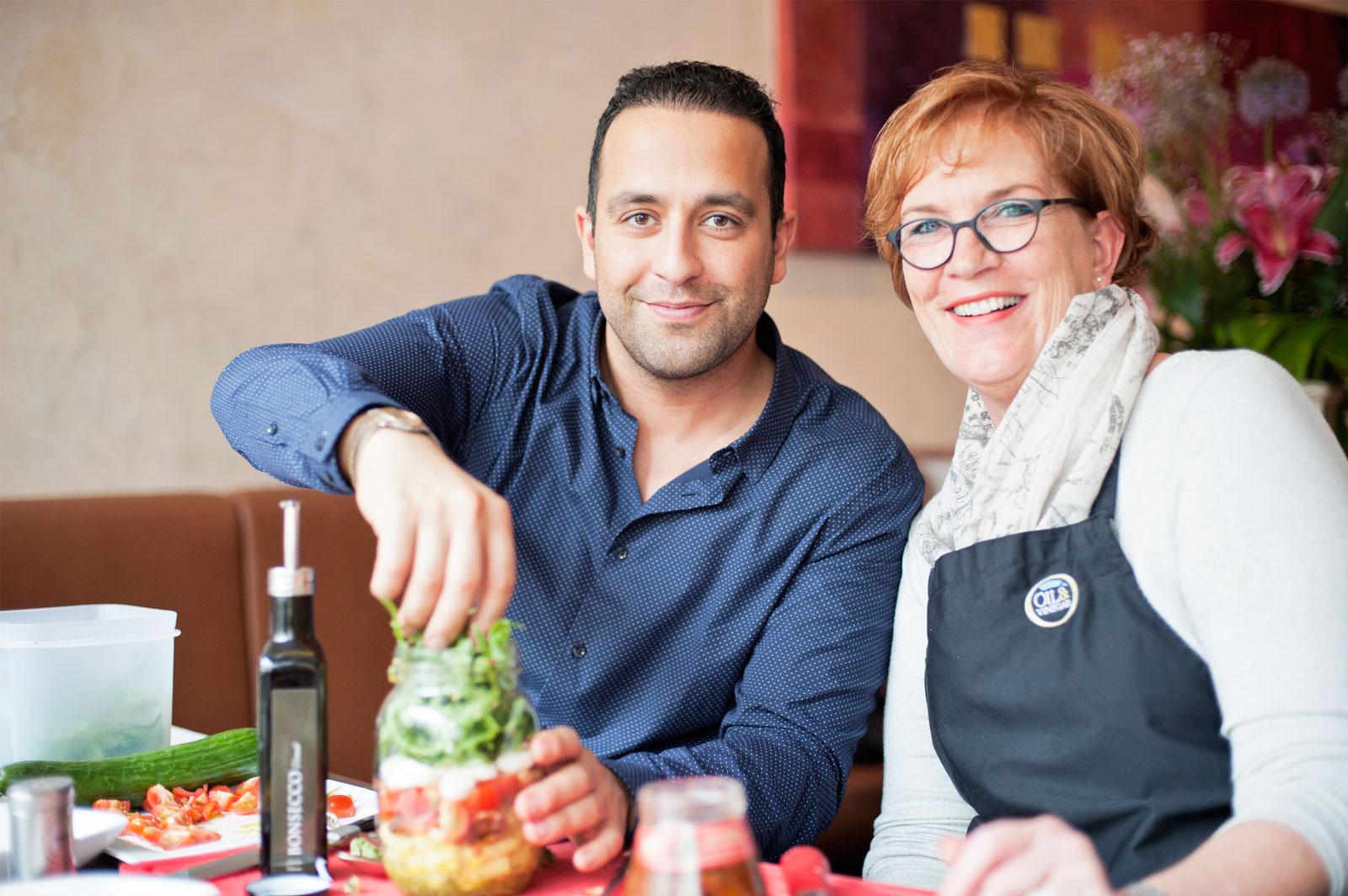 KR-ONE kocht - Mit Oil & Vinegar und La Romantica - Vitamine für eine gesunde Innenstadt