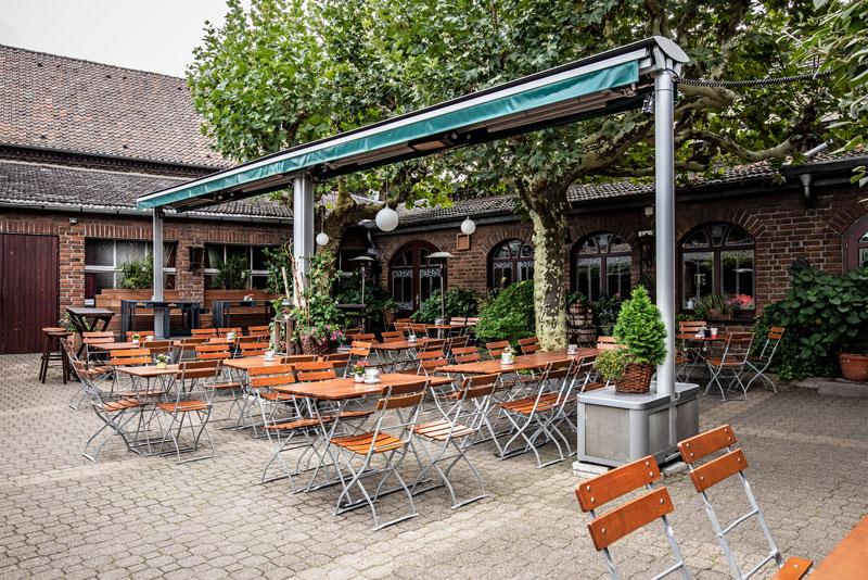 Fischelner Burghof Biergarten