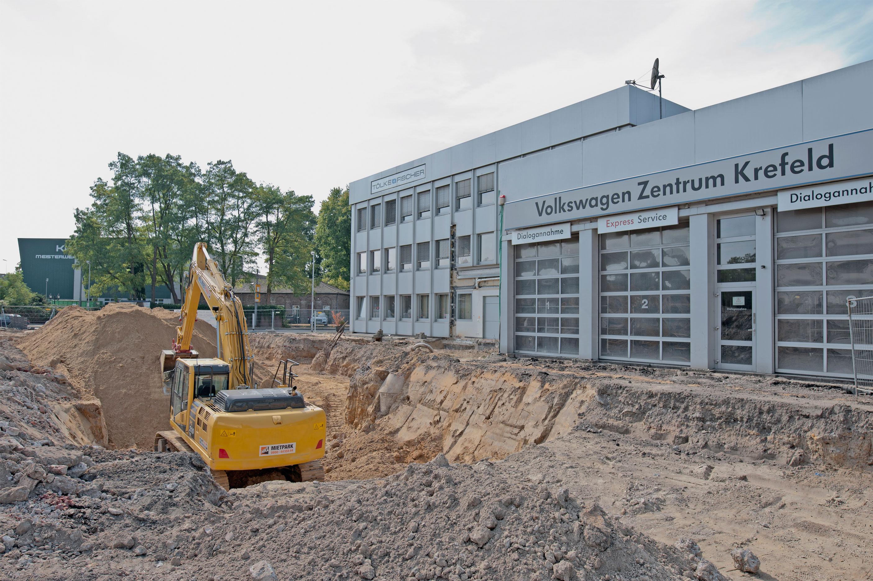 Ein Mammutprojekt, das sportlich macht! - Tölke & Fischer Volkswagen Zentrum Krefeld