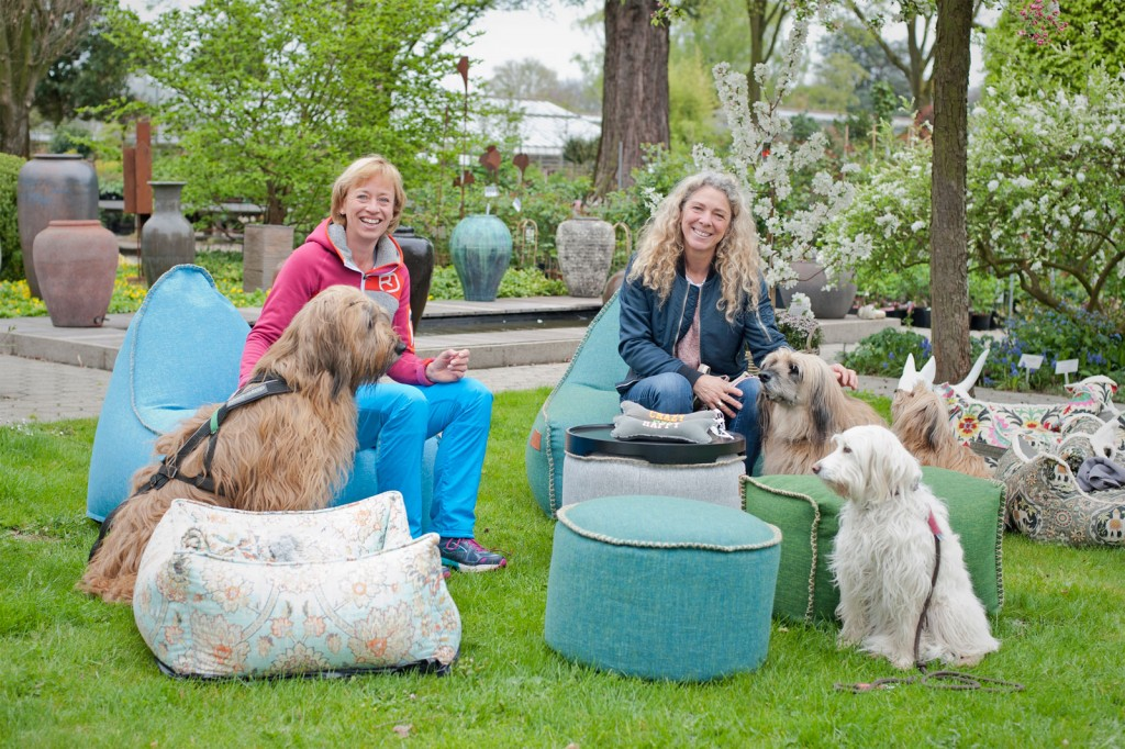 Corinna Schumacher, Bettina Döring, Hunde, Floh, Lilli, Morris, Toffie