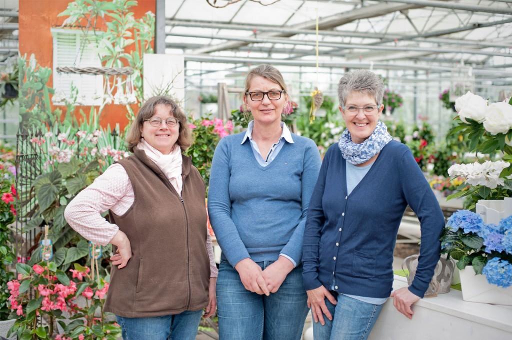 Suada Kurz, Claudia Lingscheidt, Marion Limberg