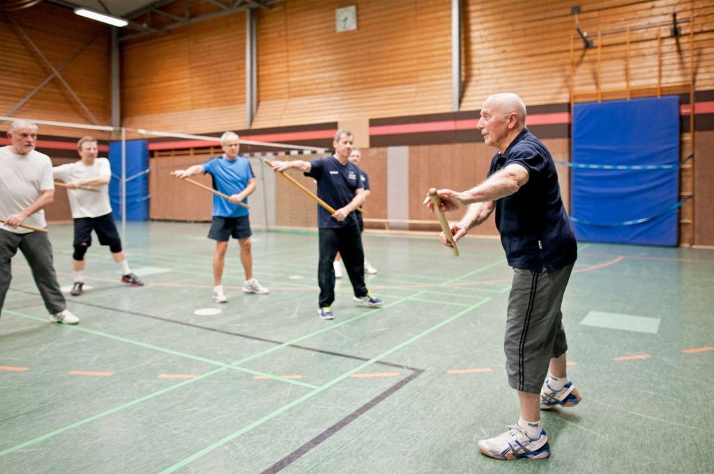 Harald Fiedler, Stange, Sport, Herren