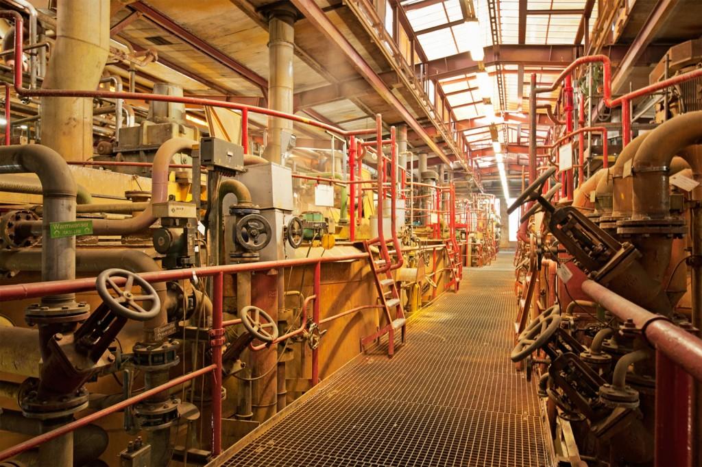 Maschinen, Rohre
