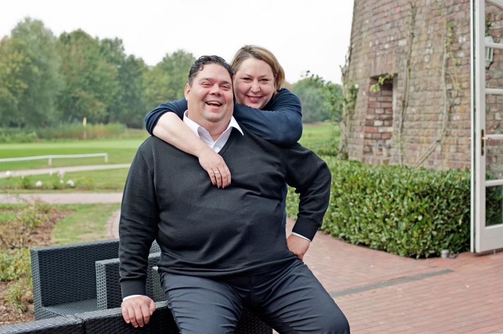 Gastronomen-Ehepaar Ingo und Katrin Sperling, Villa Sonnenschein