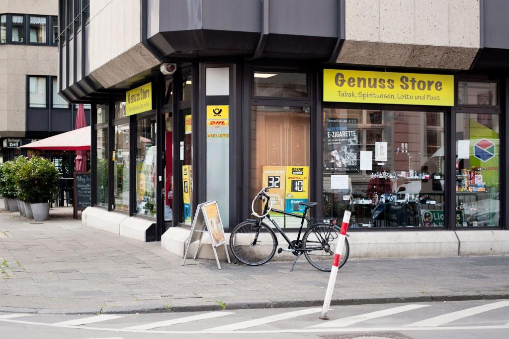 Genuss Store, Außenansicht, Geschäft