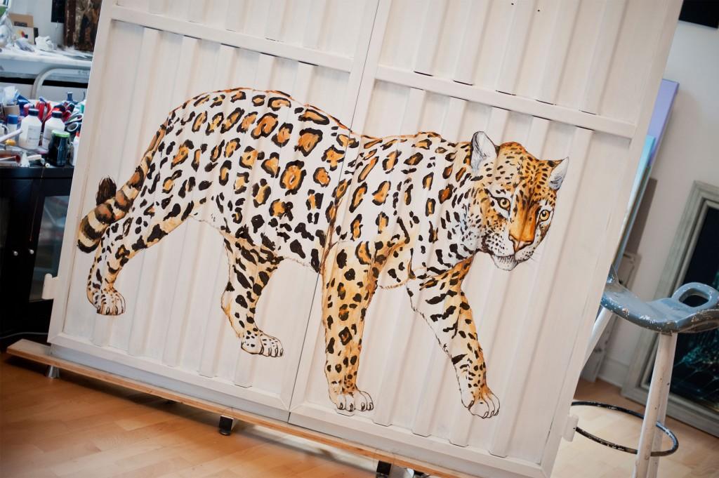 Jerzy Chartowski, Container, Leopard