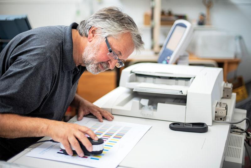Druckerei Obermann und AWI Design