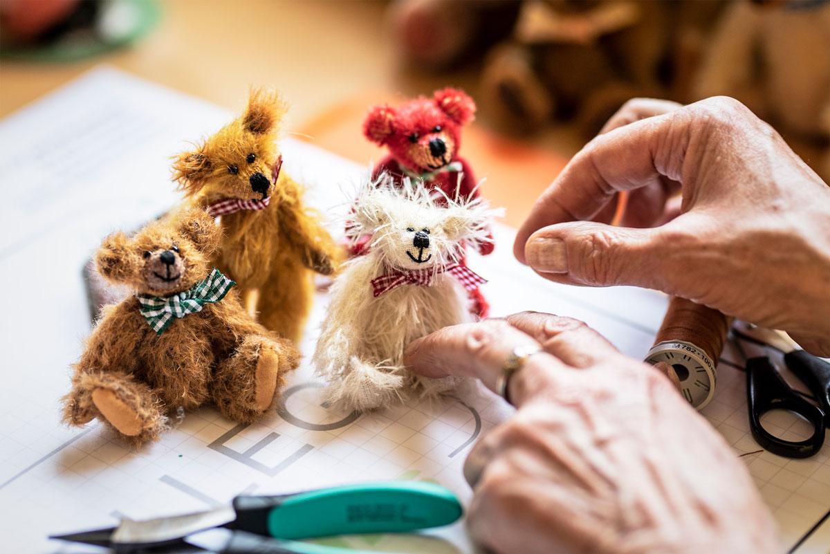 Die Teddymanufaktur von Silvia Nöhles